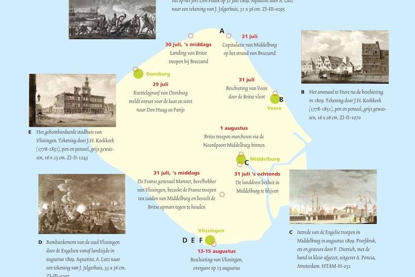 landing engelse expeditie walcheren 1809