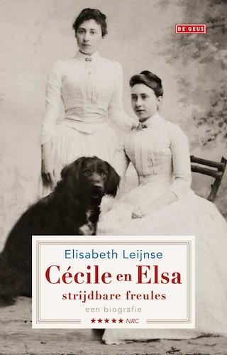 Boekomslag Cécile en Elsa, strijdbare freules