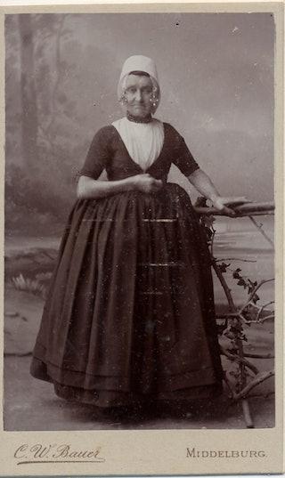 Christina Mauer. Zeeuws Archief, Zelandia Illustrata III-1005-2
