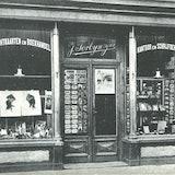 Winkel van Jacob Torbijn in de Ganzepoortstraat te Goes omstreeks 1920. Zeeuws Archief, Fotoarchief J. Torbijn