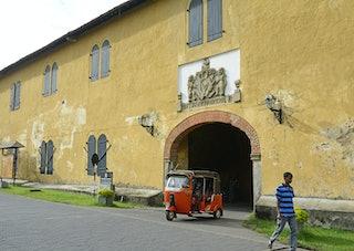 VOC-pakhuis in Galle, Sri Lanka. FotoJanKoeman