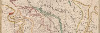 Kaart van Suriname, omstreeks 1718. Uitgegeven door J. Ottens te Amsterdam, ca 1718. Gravure, 50,5 x 39 cm., ingekleurd. Zeeuws Archief, Zelandia Illustrata I-1623