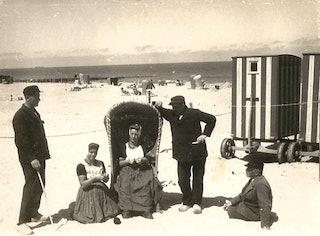 Foto van Wilhelm Tobien, 1931, in bezit van Co en Catharina Geldof.