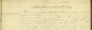 detail Akte van oprichting van de Naamloze Vennootschap 'de Middelburgsche courant'