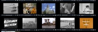 collage van filmpjes