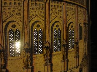 Zeeuws Archief - HTMA298. Stadhuis Middelburg 1743. Detail. Fotografische reproductie: Ivo Wennekes en Mark van der Graaff. Bewerking: Sylvia Rietbergen