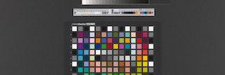 Kaart met vlakjes met verschillende kleuren.